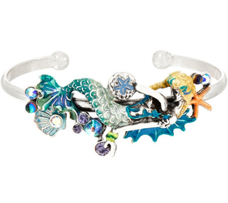 Kirks Folly Dreamy Mermaid Cuff Bracelet