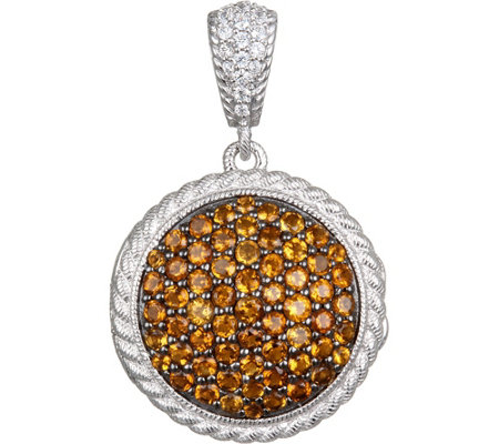 Judith Ripka Sterling Gemstone Locket Enhancer