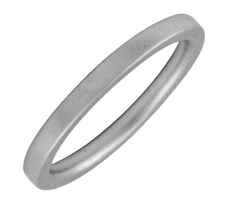 Simply Stacks Sterling Black Rhodium Plated 2.25mm Ring