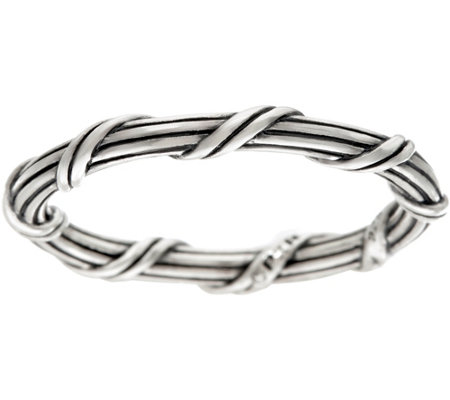 Peter Thomas Roth Sterling Signature Romance Stack Ring