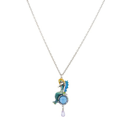 Kirks Folly Dreamy Mermaid Pendant with Chain