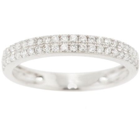 Diamond Band Ring 14K Gold 1/3 cttw by Affinity