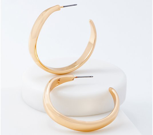 Belle by Kim Gravel EmBELLEish Organic Hoop Earrings