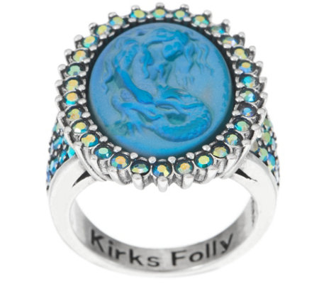 Kirks Folly Lorelei Mermaid Dream Stone Ring