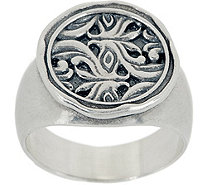 Or Paz Sterling Silver Signet Ring - J357238