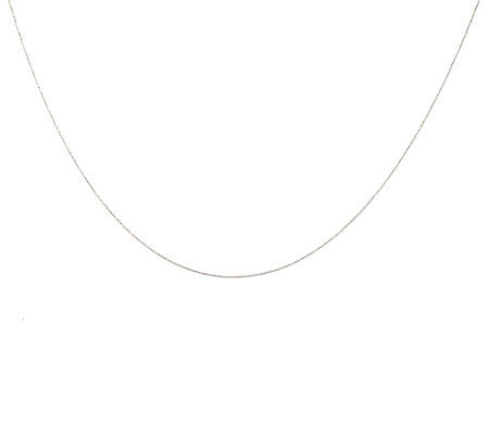 "EternaGold 18"" Diamond Cut Small Bead Necklace 14K Gold"