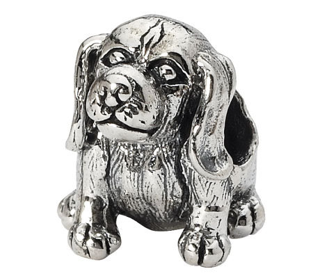 Prerogatives Sterling Beagle Bead