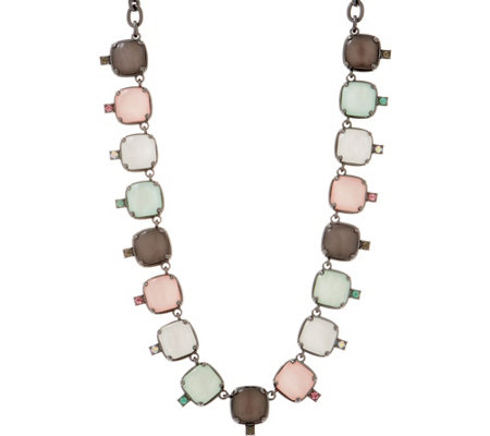 LOGO Links by Lori Goldstein Mystic Moonstone Necklace