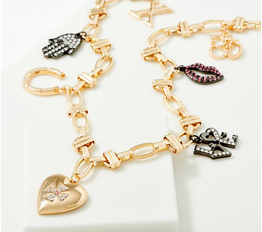 LOGO Links by Lori Goldstein Legacy Charms Necklace