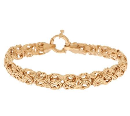As Is Eternagold 8 Textured Bracelet 14k Gold