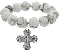 Power Beads by jen Inspirational Charm Gemstone Bracelet - J348440