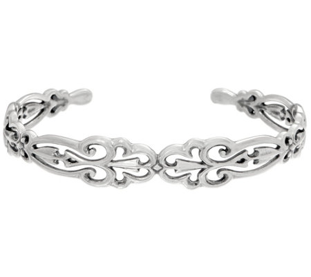 Carolyn Pollack Sterling Silver Country Couture Cuff, 12.0g