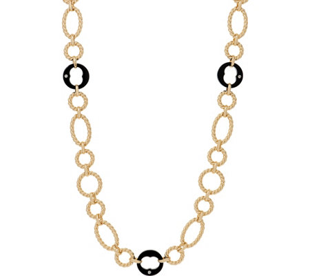 "Grace Kelly Collection 37"" Link Necklace"