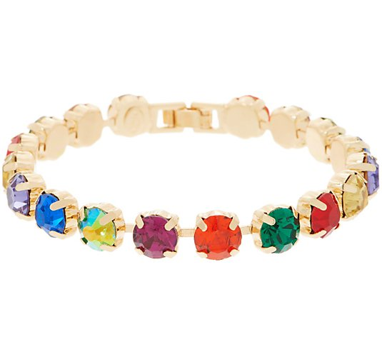 Kirks Folly Rainbow Bridge Memory Line Bracelet