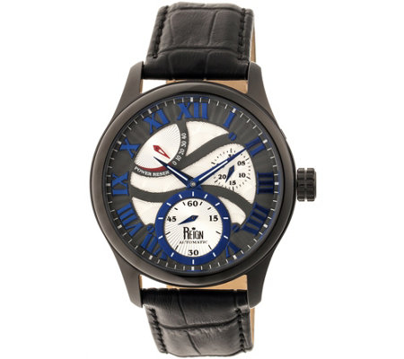 Reign Bhutan Automatic Watch - Black/Blue