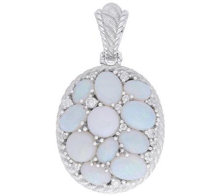 Judith Ripka Sterling Opal Diamonique Enhancer