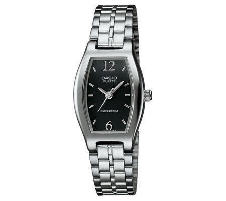 Casio Ladies' Classic Black Dial Watch