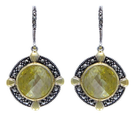 Suspicion Sterling Canary Simulated Diamond Earrings