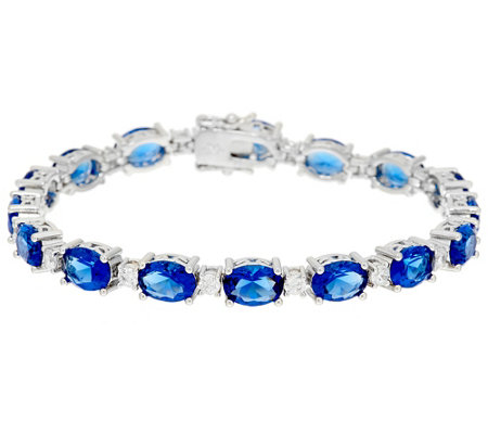"""As Is"" Elizabeth Taylor Simulated Tennis Bracelet"