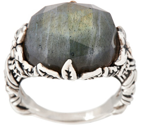 Stephen Dweck Sterling Silver Bold Statement Ring