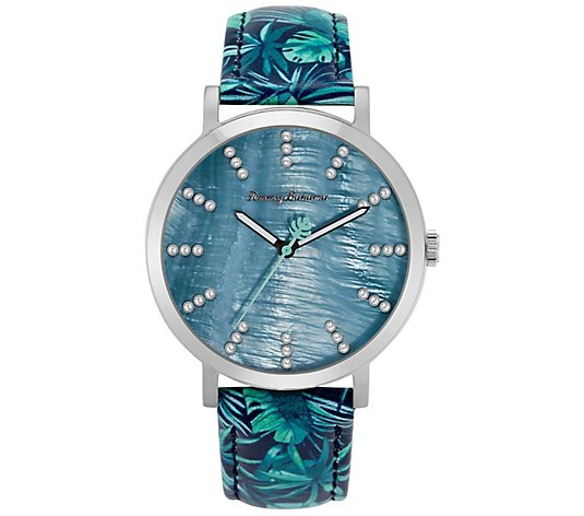 Tommy Bahama Women's Island Fronds Swarovski Crystal Watch