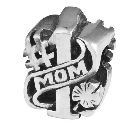 Prerogatives Sterling #1 Mom Bead