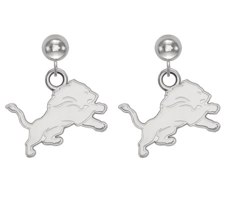 Sterling NFL Dangle Post Earrings