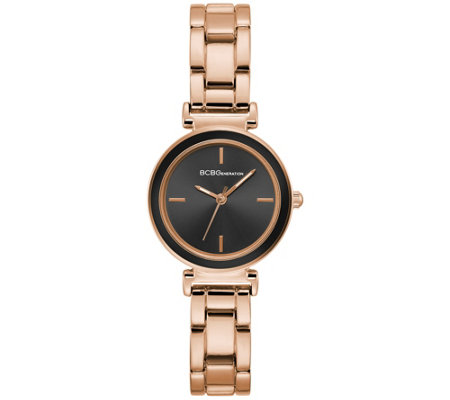 Bcbg Generation Women S Hamilton Rosetone Bracelet Watch