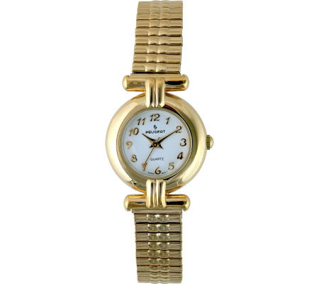 Peugeot Ladies Round T-Bar Design Case Watch
