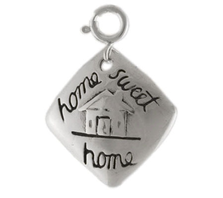 Sterling Home Sweet Home Charm