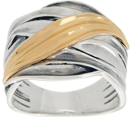 Or Paz Sterling Silver Polished Highway Ring