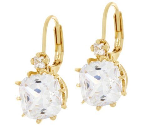 Joan Rivers Private Collection Crystal Drop Earrings