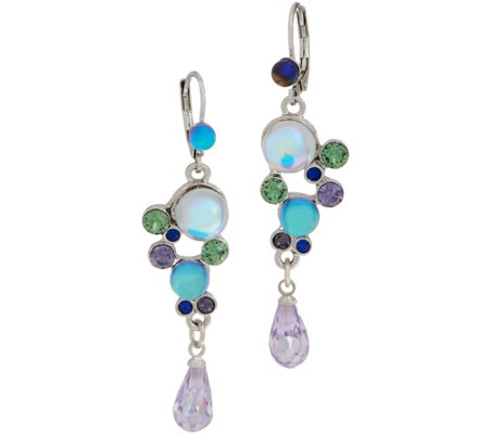 Kirks Folly Beach Bubble Lever Back Earrings