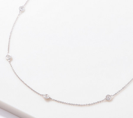 "Affinity 14K Gold Diamonds by the Yard 24"" Necklace, 1.40 cttw"