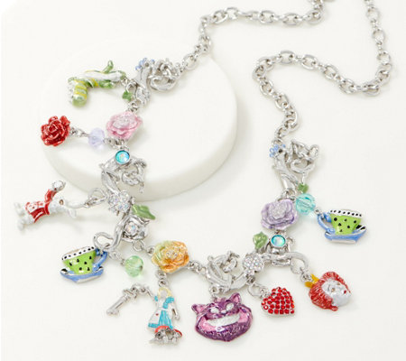 Kirks Folly Wonderland Garden Party Charm Necklace
