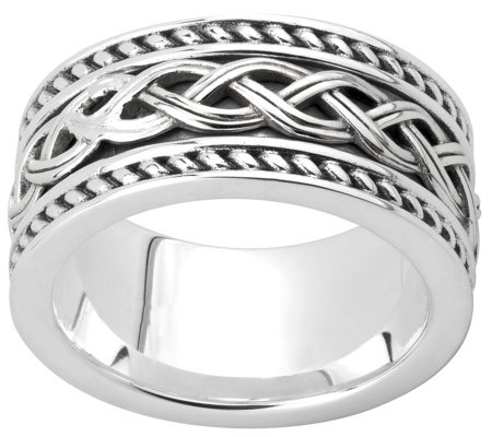 Solvar Sterling Celtic Band Ring