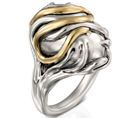 Hagit Sterling, 14K Domed Ring