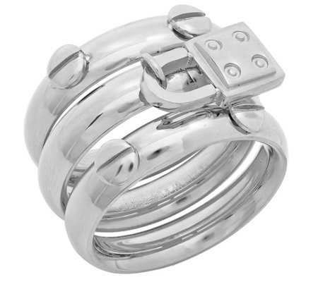 Steel by Design Stainless Set of 3 Stack Rings
