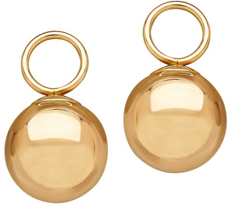 EternaGold Ball Drop Charmlettes, 14K Gold