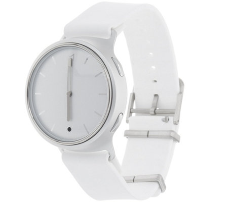 MisFit White Sport Strap Phase Hybrid Smart Watch