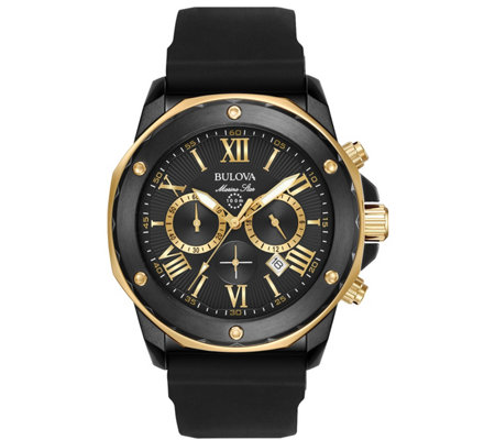 Bulova Men's Marine Star Two-Tone Chronograph Watch