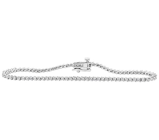 "Affinity 1.50 cttw 7"" Two-Prong Diamond Tennis Bracelet"
