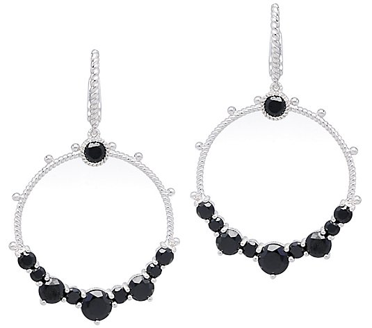Judith Ripka Sterling Black Spinel