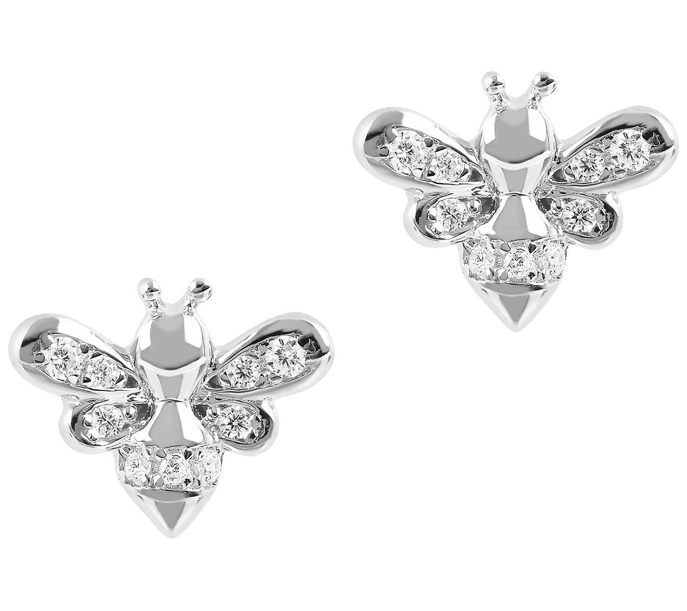Diamond Pendant Sterling Silver Womens Round Brown Trinity Fashion 1//4 Cttw