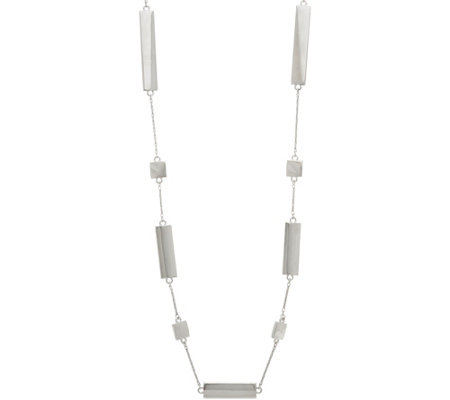 Linea by Louis Dell'Olio Bar Station Necklace