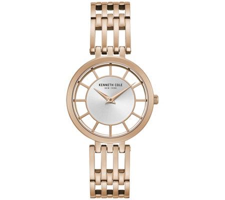 Kenneth Cole New York Women S Rosetone Watch