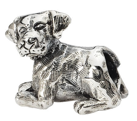 Prerogatives Sterling Labrador Retriever Bead