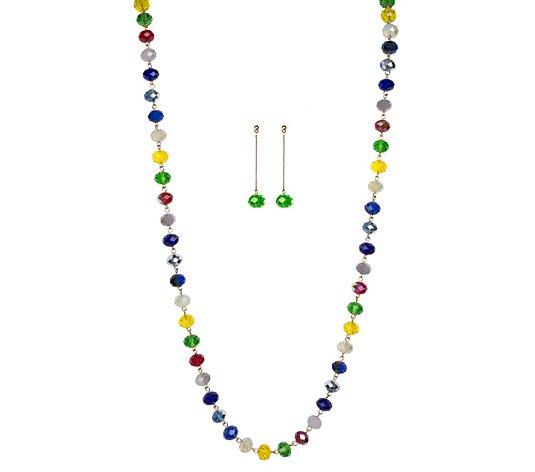 Linea by Louis Dell'Olio Jac's Garden Necklace& Earrings