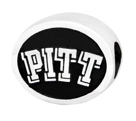 Sterling Silver University of Pittsburgh Bead