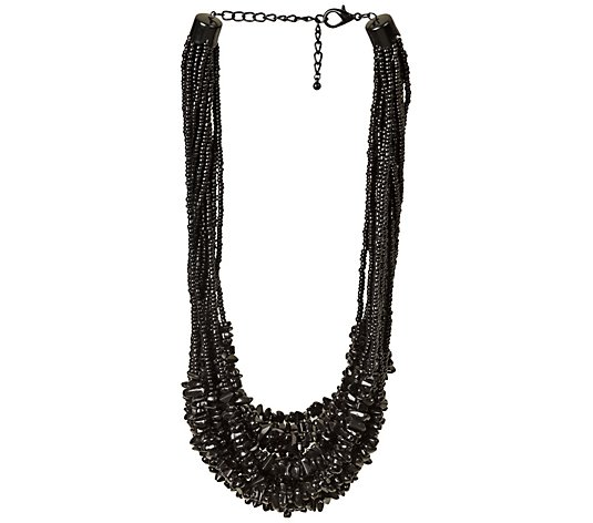 Linea by Louis Dell'Olio Multi-Strand Beaded Nugget Necklace